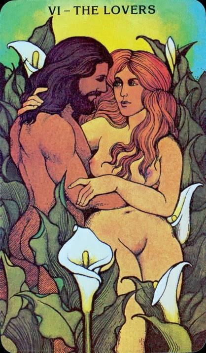 Curiosidad Las cartas de Tarot mas eroticas CUAL DE ELLAS TE LOGRA ENCENDER gratis tarot de maximo 1 Los Enamorados Morgan Greer